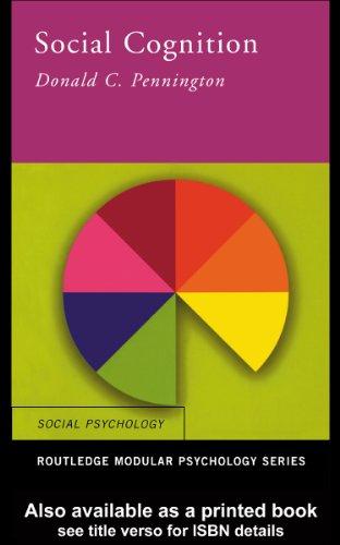 Social Cognition (Routledge Modular Psychology)