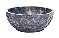 Nirvana Class - Soapstone Scrying and Smudge Bowl (Scrying - Bowls & Mirrors) (4 Inch) From India