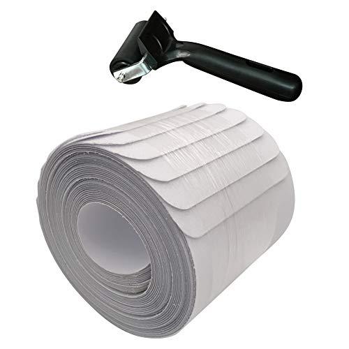 EFINNY Anti Slip Clear Tape, Transparent, Grip & Friction Tape, für Badewanne, Treppen, Decks, Ausrüstung, Rollstuhl Rampen, Außentreppen, Gehwege &