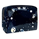 Bolsa de cosméticos para Mujeres Universo Cuerpos celestes Starry Night Sky 4 Bolsas de Maquillaje espaciosas Neceser de Viaje Organizador de Accesorios