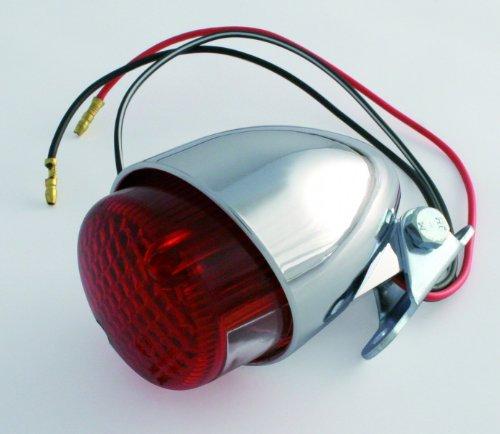 ShinYo Rücklicht Texas 12V, 21/5W schwenkbarer Halter Chrom, Unisex, Multipurpose, Ganzjährig, Kunststoff