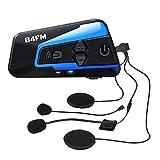 LX-B4FM バイク インカム 4riders 4人同時通話 FMラジ Bluetooth防水インターコ バイク用インカム スマホ音楽再生 Siri/S-voice IP67防水 無線機いんかむヘルメット用インカム 連続15時間の長時間通話 インカムバイク 2種類マイク 日本語取扱 認証済み