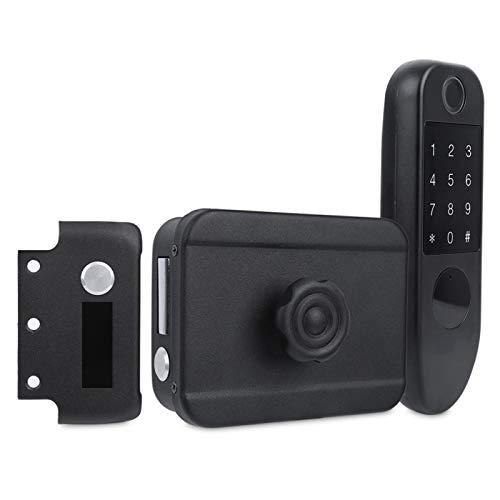 Password Anti‑peep Anti‑Theft Lock Door Lock Fingerprint Door Lock Access Control Lock Low Battery for Outdoor for Indoor for Apartment for Home