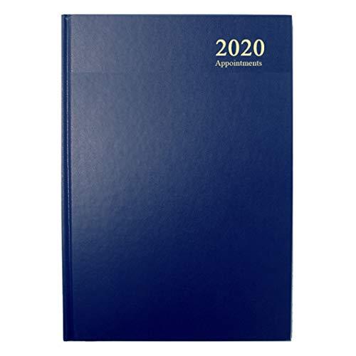Collins Essential - Agenda 2020, formato A5, visualizzazione giornaliera, colore: Blu