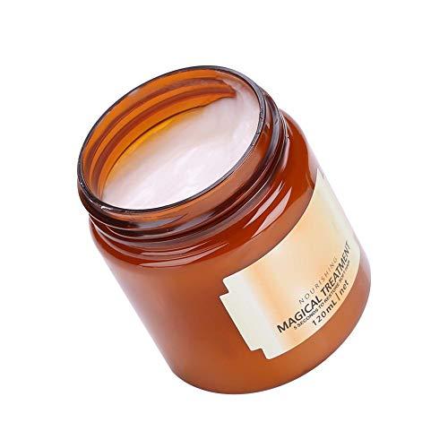 Mascarilla profesional para el cabello de 120 ml, mascarilla para el cabello rico, tratamiento nutritivo Súper mascarilla para los beneficios del cabello seco / muy seco / maltratado