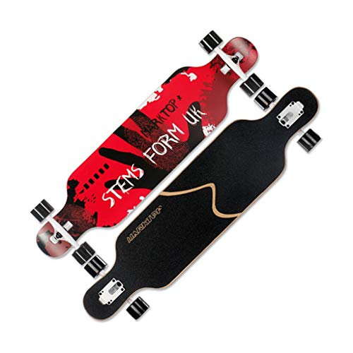 Buy Skateboards Caster Scooters Children's Four-Wheeled Scooter Double Rocker Professional Skills Bo...