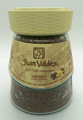 Juan Valdez® Normal Gefriergetrockneter Kaffee mit Vanille und Zimt, 95g Jar