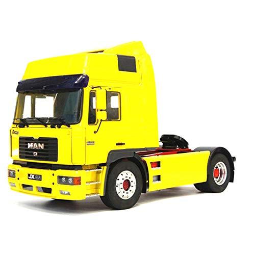 deguojilvxingshe JXmodel 1/14 4x2 RC Truck modello per trattore Man F2000 – Carrozzeria in lega di alluminio – Adulti grande giocattolo di camion radiocomandato (Versione kit da assemblare)