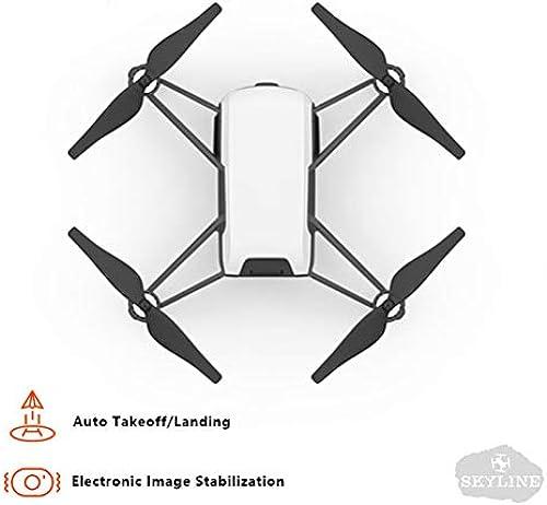 LHJCN Drohne mit Kamera HD WiFi FPV Live übertragung, RC Quadrocopter,Follow-Me-Modus,Flugbahn Flug,Faltdrohne für Anf er, Weiß