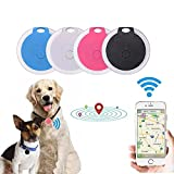 Pacoco Pet Cat Dog GPS Tracker Collar Accessories Locator Dog Finder with Remote Selfie No Monthly Fee APP Activities Routes Tracking Collar Device Waterproof Monitor for Dogs and Cats