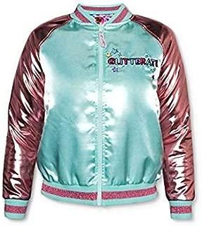 L.O.L. Surprises! Girls Reversible Bomber Jacket Size XS 4/5