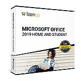 MS Office 2019 Home and Student - Vollversion 32 bit & 64 bit Neuer und originaler Produktschlüssel | Box Inkl. Anleitung von lizengo