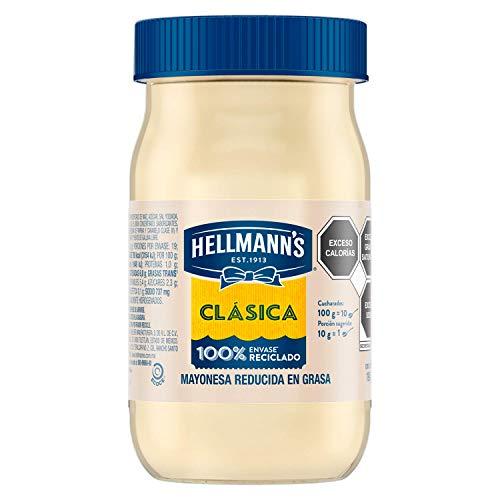 Hellmann's Mayonesa Clásica Real 190 g. Contiene aceite de origen natural y...