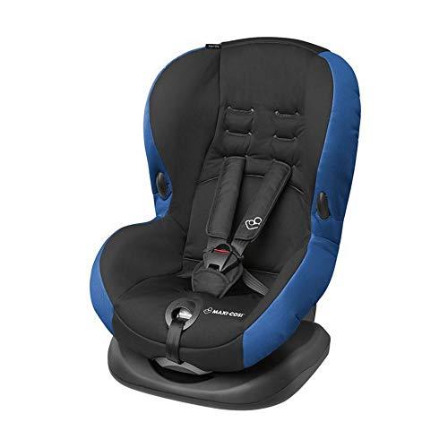 Maxi-Cosi Priori SPS + Kindersitz mit optimalen Seitenaufprallschutz und 4 Sitz- und Ruhepositionen, Gruppe 1 (9-18 kg), nutzbar ab 9 Monate bis 4 Jahre, Navy Black (blau/schwarz)