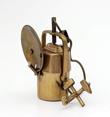 Bergbau Geschenke Mini Set Grubenlampe Karbidlampe