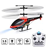 VATOS RC Helicopter Remote Control Helicopter,3.5 Channels Indoor Hobby Mini RC Flying Helicopter