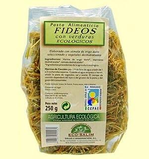 Fideos con verduras eco, 250g