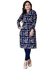 Kesari King Women's Crepe Semi-stitched Salwar Suit (1023x_Multicolor_Free Size).