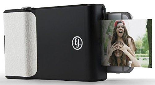 Prynt, Get Instant Photo Prints with The Prynt Classic for Apple iPhone 6s, iPhone 6, and iPhone 7 - Black