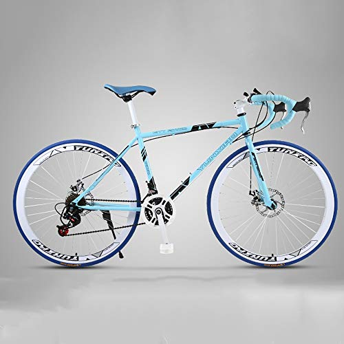 Best Bargain XSLY 2020 New 26 Inch Road Mountain Bike 24 Speed Disc Brakes Front and Rear Bicycles f...
