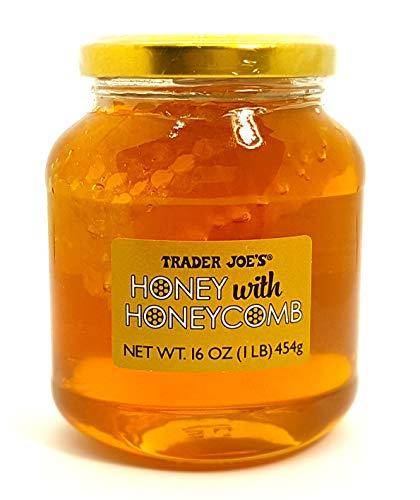 Trader's Joe Honey with Honeycomb 16 OZ (1 LB) 454g