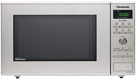Panasonic NN-SD27 Integrado Solo - Microondas (Integrado, Solo microondas, 23 L, 1000 W, Botones, Giratorio, Acero inoxidable)