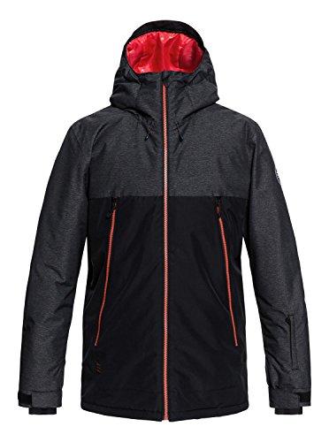Quiksilver Sierra Snow Jacket, Hombre, Black, L