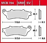 Bremsbelag TRW Sinter Street Hochleistungsbelag XL 1000 V Varadero SD01 99-00 vorne