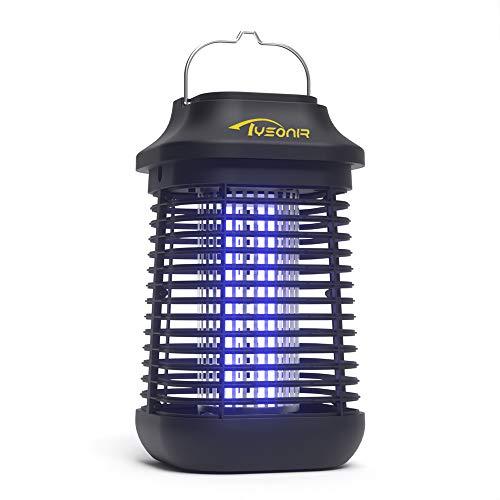 Tysonir Electric Mosquito Zappers (4200V), Waterproof Outdoor/Indoor Bug Mosquito Zapper Light for Backyard, Patio!
