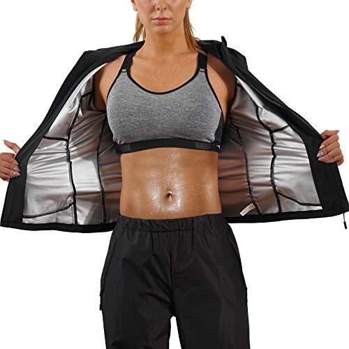 Bingrong Cortavientos Mujer Running Transpirable Chaqueta Deportiva Mujer Abrigos Impermeable Running Traje...