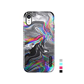 iPhone XR Case Marble Akna Sili-Tastic Series High Impact Silicon Cover with Full HD+ Graphics for iPhone XR  101671-U.S