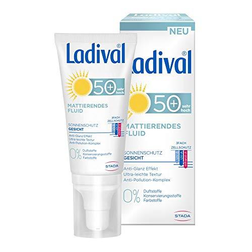 Ladival Sonnenschutz Gesicht Mattierendes Fluid LSF 50+, 50