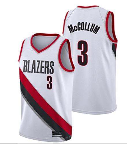 Camiseta deportiva de uniforme de baloncesto n. ° 3, camiseta deportiva pioneer MCCOLLUM 3 # chaleco de uniforme de baloncesto, camiseta de jersey de uniforme de entrenamiento de...