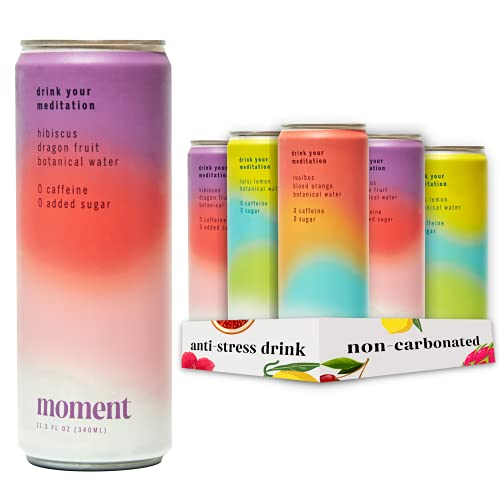 Moment Botanical Water STILL - Variety Pack Healthy & Natural:...