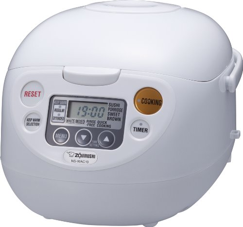 Find Bargain Zojirushi NS-WAC10-WD 5.5-Cup (Uncooked) Micom Rice Cooker and Warmer