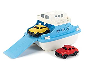 Green Toys Ferry Boat Toy Blue/White