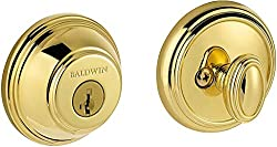 Baldwin Prestige 380 Round Single Cylinder Deadbolt