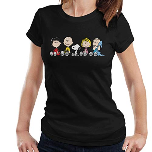 Peanuts The Gang Sit Down Women's T-Shirt