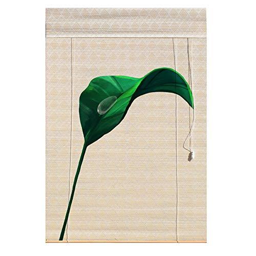 PMTX-Bamboo curtain Bambusrollos, Vorhänge Bambusvorhänge Insektenschutzvorhänge Balkon Wohnzimmer Teestube Sonnenschutzvorhänge, 20 Größen erhältlich (Size : 100x180cm(39.3