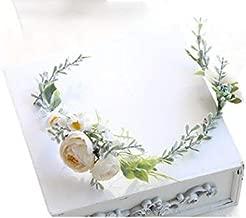 FIDDY898 Floral Crown Green Vine Bridal Accessories Wedding Crown (Headpiece)