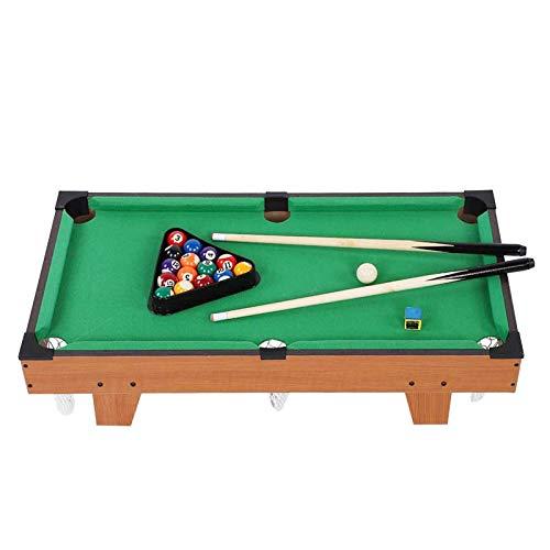 precauti Mini mesa de billar mesa de billar conjunto con todos los accesorios interactivos de mesa de la piscina kit de juguete de padres e hijos de interacción de los niños juguetes educativos