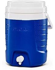 Igloo Sport 2 Gallon dryckesbehållare med tapp, 7,6 liter, blå