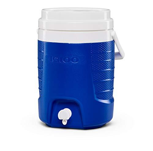 Igloo Sport 2 Galones Dispensador de Bebidas Aislado, 7.6 litros, Azul