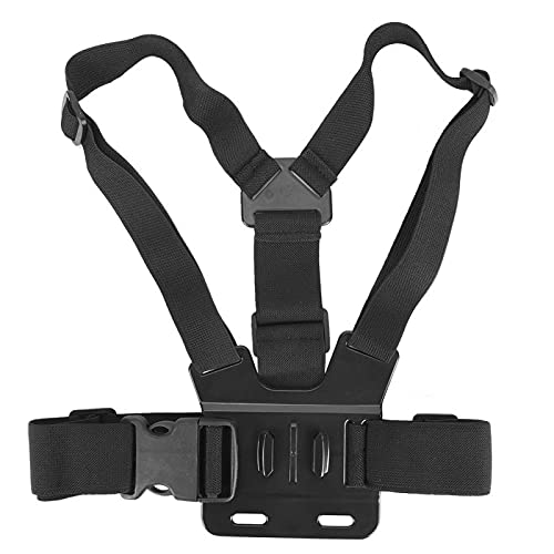 Akozon Imbracatura Toracica Supporto per Cintura 1/4 Vite Alloggiamento Guscio Coperchio Protettivo Telaio Kit Fascia Toracica per Fotocamera Tascabile