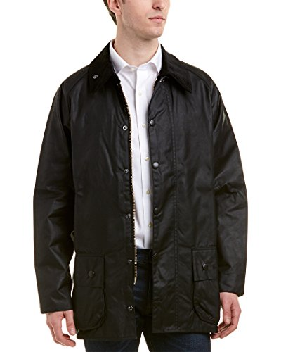 Barbour Beaufort Wachsjacke, schwarz, C40