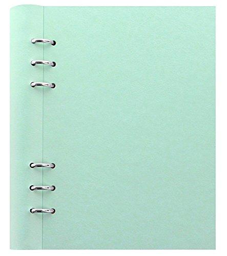 クリップブック レザー調 バインダー A5 ファイロファックス filofax バインダー システム手帳 ダイアリー ノート (グリーン) [並行輸入品]