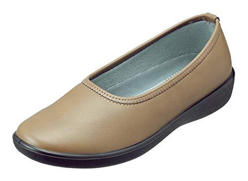 [パンジー] 靴 パンプス 婦人用 シューズ レディース 生活防水 お仕事履きにも最適 2323 (24.0cm (3E), オーク)