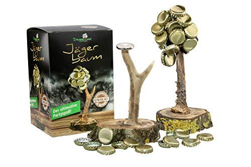 Jäger Baum/Kronkorkenbaum mit Rehgeweih/Edle Luxus Variante unseres Deggelbaums