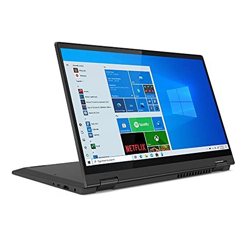 "Lenovo Flex 5 14 14.0"" Laptop, 14.0"" FHD (1920 x 1080) Touch Display, AMD Ryzen 5 5500U Processor, 16GB DDR4 RAM, 256GB NVMe SSD Storage, AMD Radeon Graphics, Windows 10H, 82HU0036US, Graphite Grey"