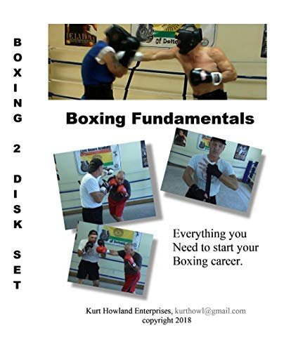 KHE Boxing 101 & 102, 2 Disk Set of Boxing Lessons, Training for Boxing or MMA